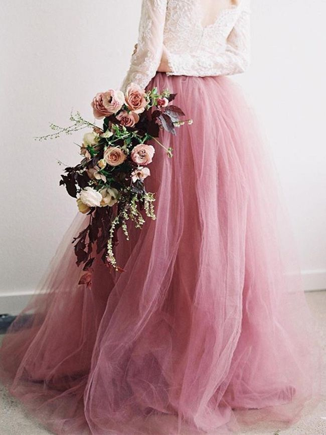 Fairy Blush Pink Tulle Gown