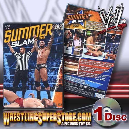 Images of Summer Slam Wrestling | WWE SummerSlam 2013 DVD
