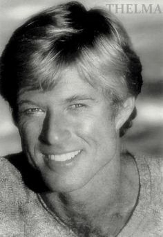l love this pic of robert redford one of my favored pics his smile is just beautiful to me.