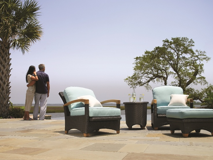 Plantation by Gloster. #OutdoorFurniture #Florida #WestPalm #Patio #Furniture