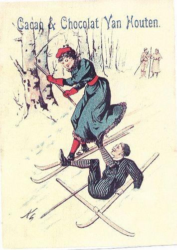 ♥VAN HOUTEN CROSS COUNTRY SKIING