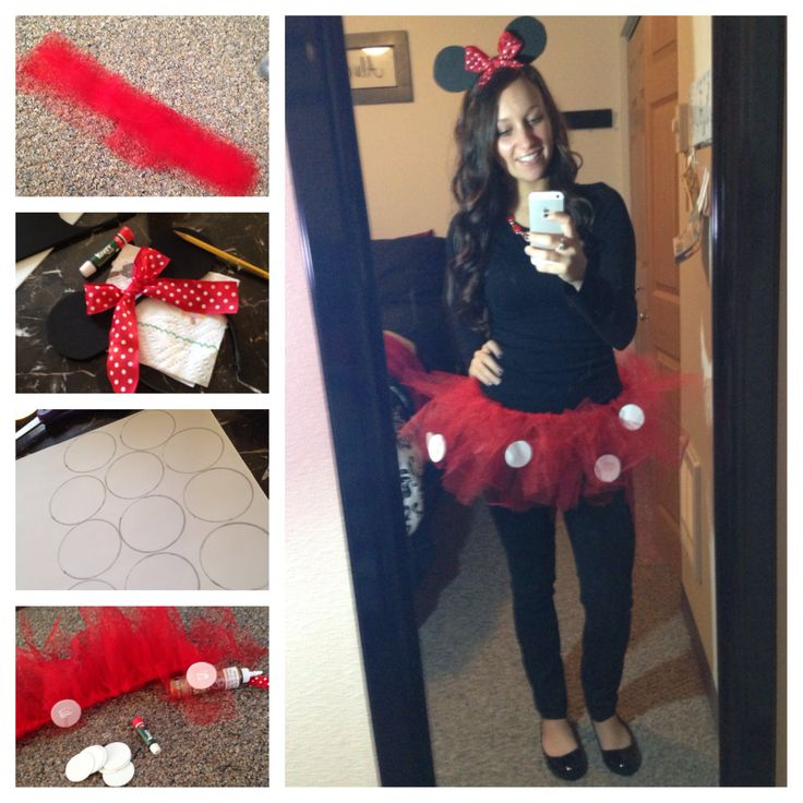 DIY | Halloween Costume | Minnie Mouse