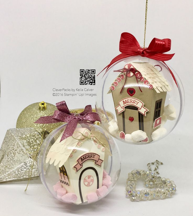 """39"" Sleeps Till Christmas – House in a Bauble with Stampin' Up! Sweet Home Bundle – CLEVERPACKS by Keila Calver"