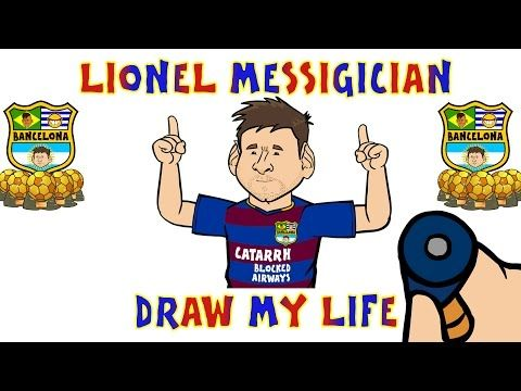 Lionel Messi - DRAW MY LIFE PARODY - YouTube