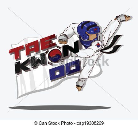 Vector - taekwondo, arte, marcial - stock de ilustracion, ilustracion libre de, stock de iconos de clip art, logo, arte lineal, retrato de EPS, Retratos, gráficos, dibujos gráficos, dibujos, imágenes vectoriales, trabajo artístico, Arte Vectorial en EPS