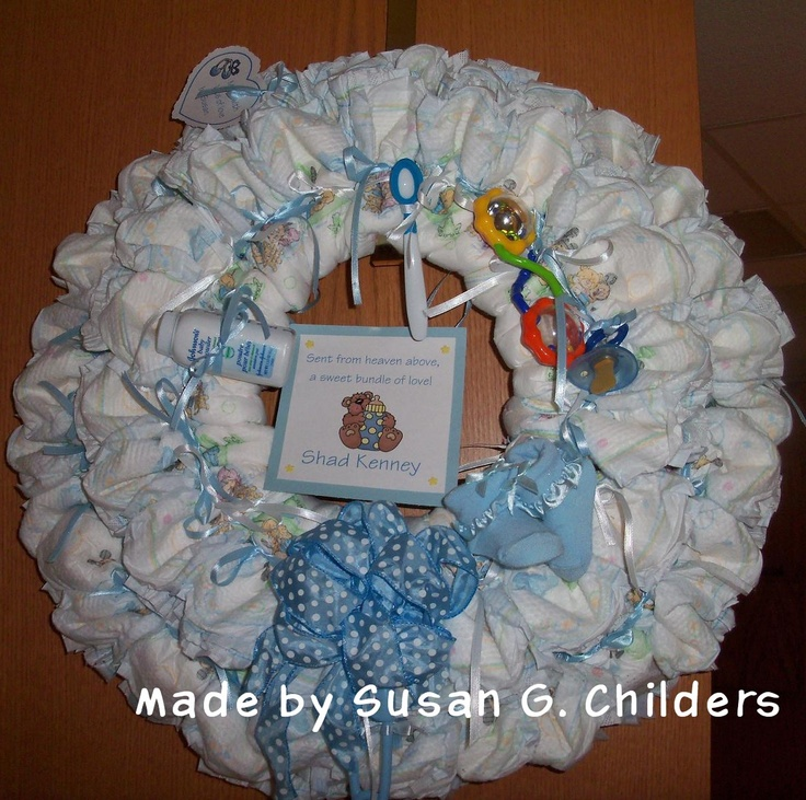 Baby Gift Ideas Using Diapers : Images about baby shower gift ideas on