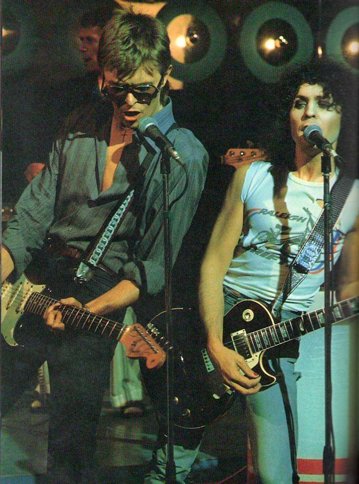 David Bowie & Marc Bolan