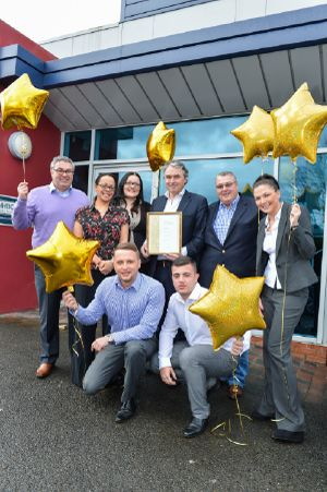 Altrincham based McGoff & Byrne celebrate as they take home Investors in People Gold!