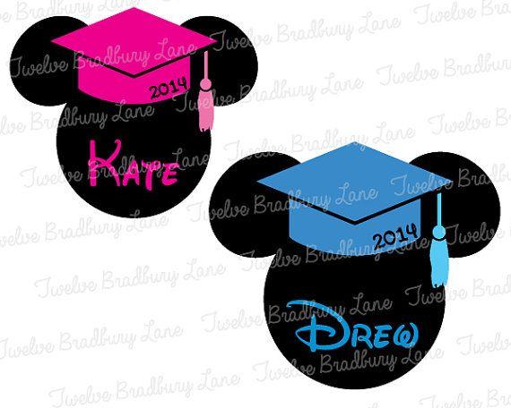 Mickey Graduation Shirt Disney Grad! https://www.etsy.com ... |Graduation Mickey Mouse Shirts