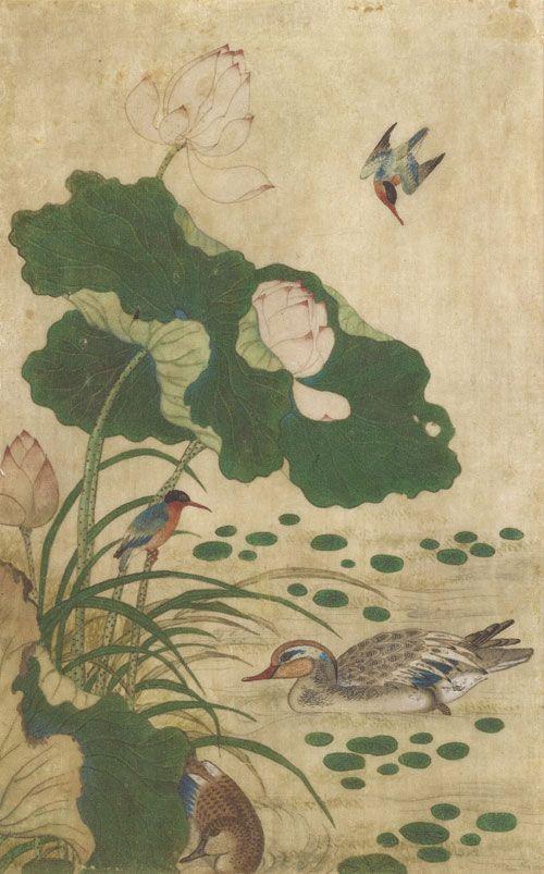 korean-paintings-of-flower-and-bird-ananzon.jpg (500×803)