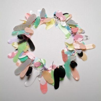 Sarah Enoch, necklace, plastic