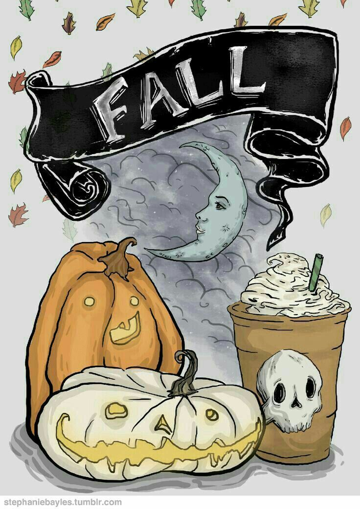 Http Stephaniebayles Tumblr Com Halloween Drawings Halloween