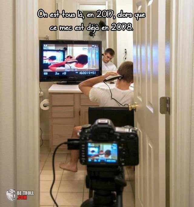 Il est déjà en 2078 lui... - Be-troll - vidéos humour, actualité insolite