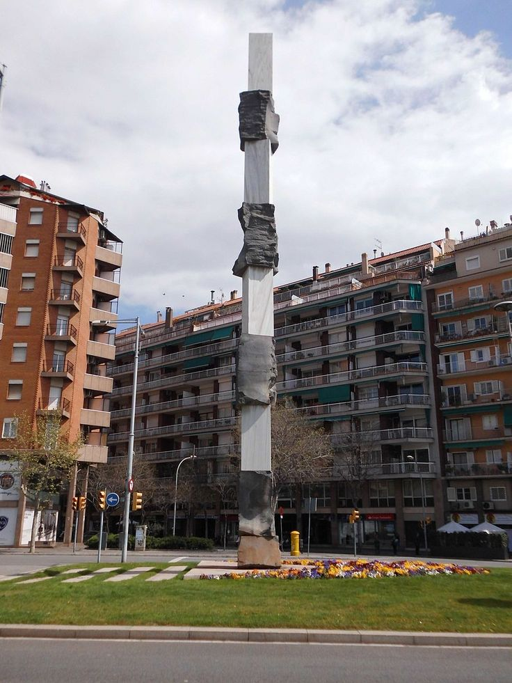 Monumento a Josep Tarradellas   Autor: Herodotptlomeu, 2013