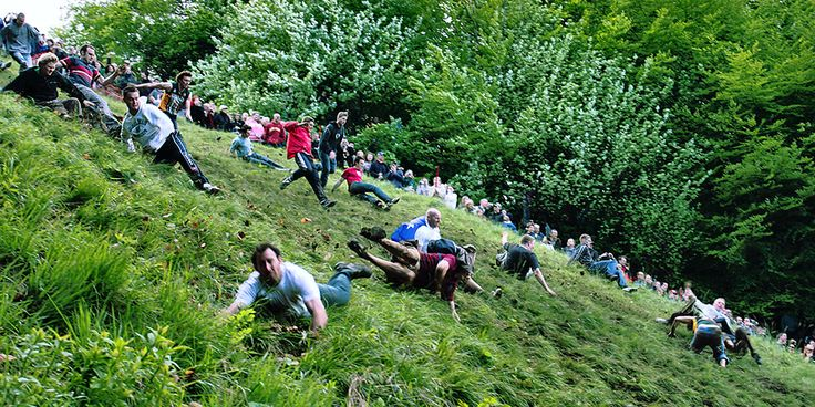 Coopers Hill Cheese Rolling photo