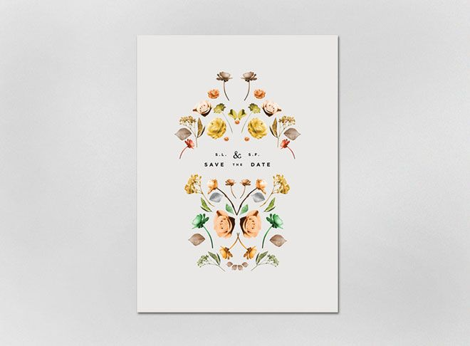 Miss Moss : Lisa Hedge: Save The Date, L'Wren Scott, Lisa Hedges, Botanical Illustrations, Paper Flower, Graphics Design, Weddings Invitations, Weddings Announcements, Floral