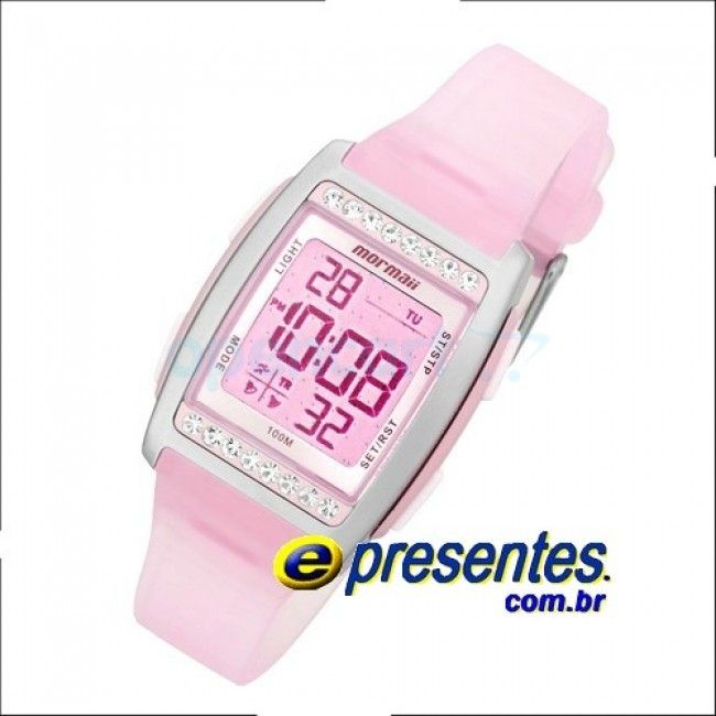 FX/8T Relógio de Pulso Mormaii Feminino -