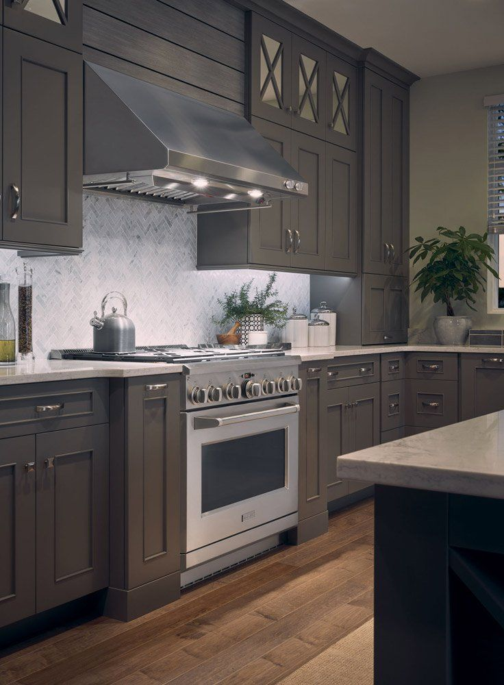 professional kitchen appliances hickory cabinets are a refined cook s dream in the details pinterest