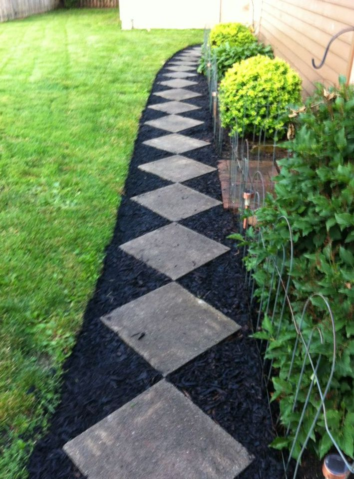 Wonderful Get Creative With Your Mulch!