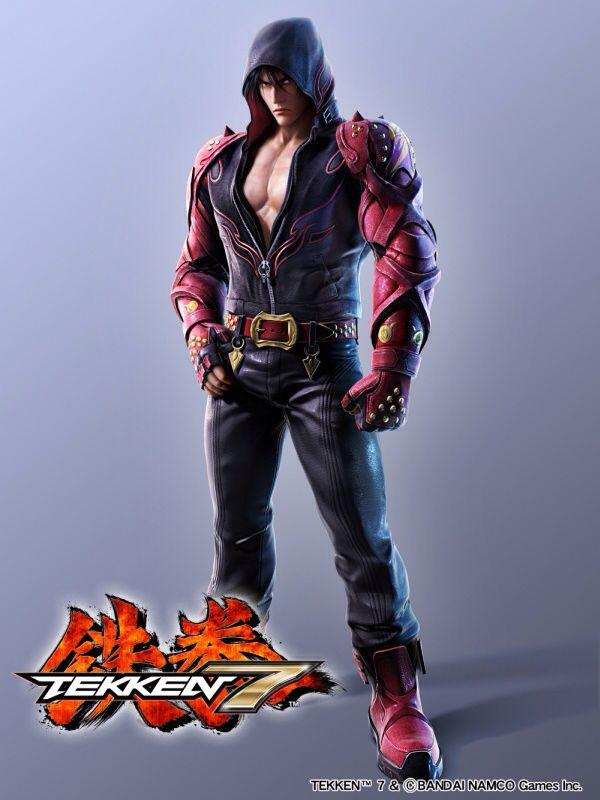 Tekken 7-Jin Kazama.
