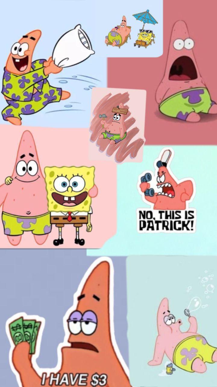 Patrick Star Cartoon Wallpaper Iphone Spongebob Wallpaper Cartoon Wallpaper