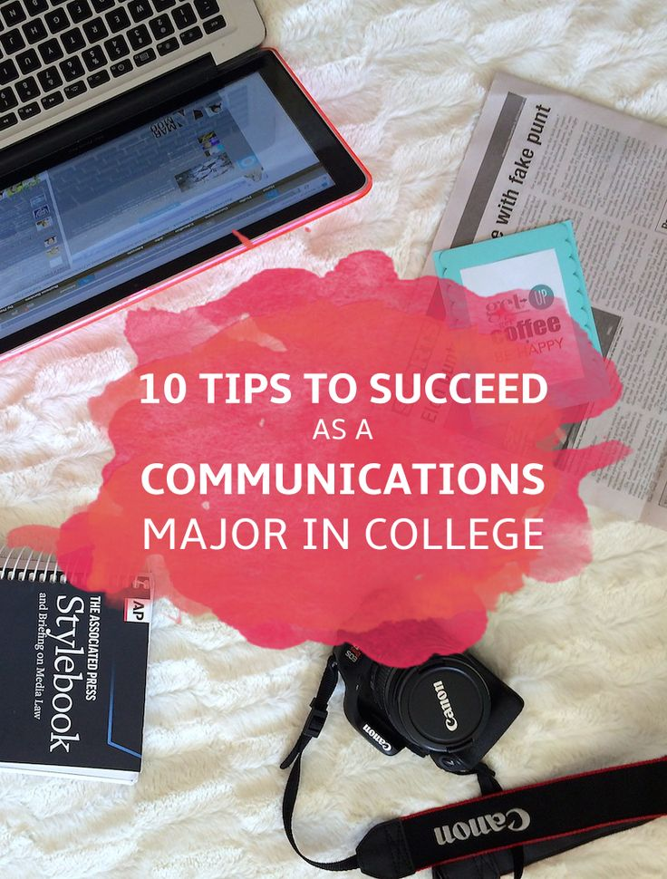 Public Relations majors for college list