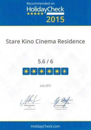 Nagrody   Hotel Stare Kino