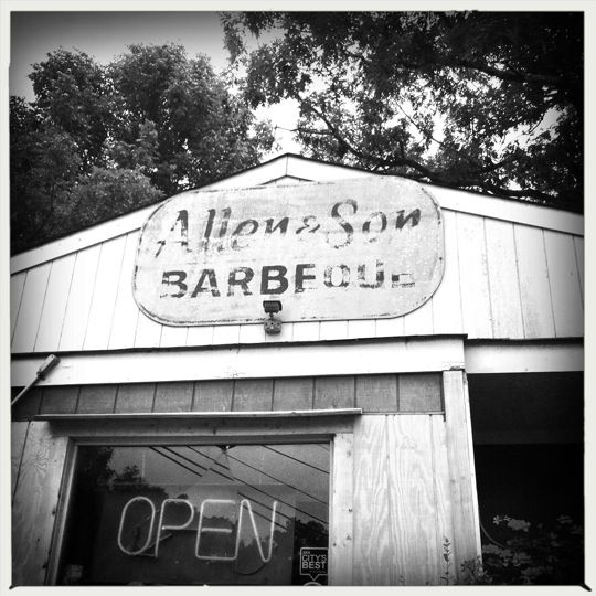 Allen Son Barbeque in Chapel Hill, NC