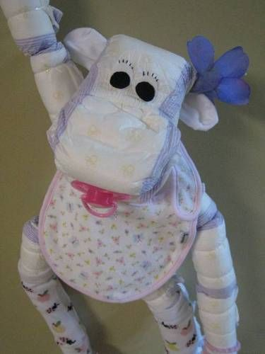 320 Best Diaper Cakes Diaper Creations Images On Pinterest