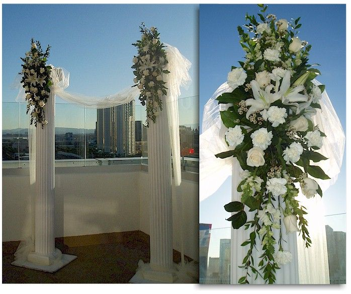 Pictures Of Wedding Columns 86