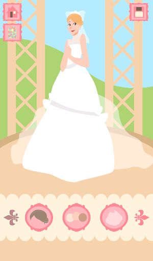 ♥ Brides Wedding Dress up Games is a fun game for girls game that brings the best beauty, hair and makeup can be found among all free apps! With an excellent collection of couture wedding dresses exlusivos and accessories required for wedding day!.<p>♥ Features Brides Wedding Dress up Games:<br>- Change tone makeup<br>- Change hairstyle<br>- Choose dresses<br>- Choose Wedding Veil<br>- Select jewelry and accessories<br>- Change wallpaper<p>♥ A fashion game to create the perfect bride!