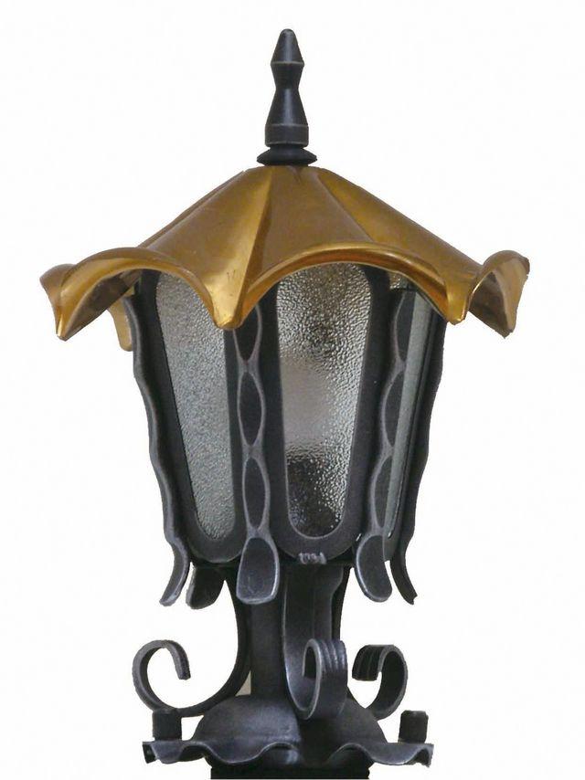 ガーデンライト LED 庭園灯 屋外 照明 スタンドライト ロージー センサー付 NL1-L13 アンティーク風 門柱灯 門灯 外灯 照明器具 おしゃれ E26 LED電球色 5.3W