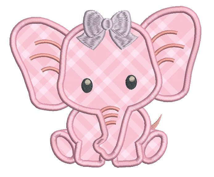 Baby Elephant Machine Embroidery Designs