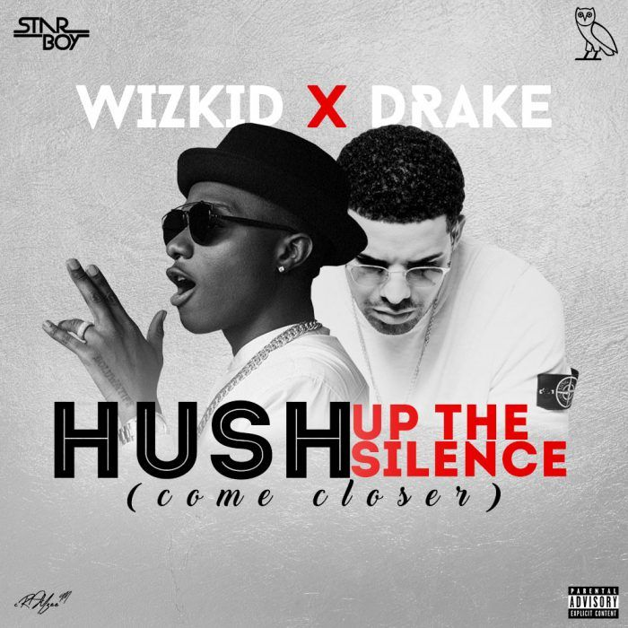 [Music] Drake X Wizkid  Hush Up The Silence (Come Closer)   They brought us one of the hottest songs of the summer in One Dance here they go again Drake teams up withStarboy Wizkidon this new leaked record entitled Hush Up The Silence (Come Closer).It is unclear which project the song is meant for it sounds unfinished but its still a fire tune.  Listen & Download Drake x Wizkid  Come Closer (Leak) Below;  Audio Player  00:00  00:00  Use Up/Down Arrow keys to increase or decrease volume…
