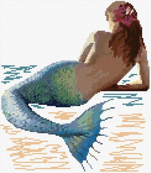 mermaid free chart