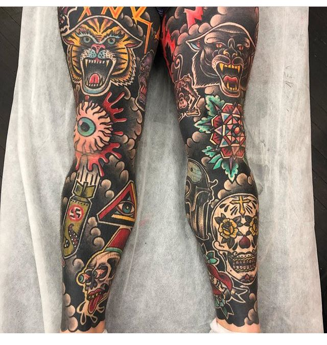 Pin By Fried Design Company On Totu Traditional Tattoo Traditional Tattoo Sleeve Best Sleeve Tattoos
