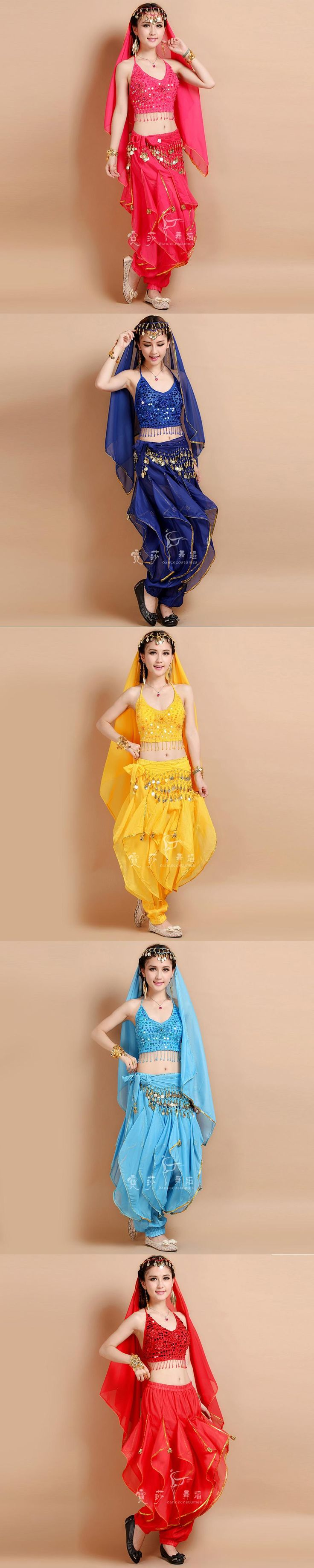 2017 new 6 colors Belly Dance Costume Bollywood Costume Indian Dress Bellydance Dress Womens Belly Dancing Costume Sets