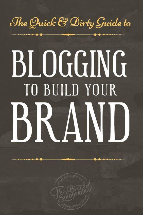 A Quick & Dirty Guide to Blogging to Build Your Brand | This guide walks you through five simple ways you can leverage your blog content to grow your brand consistently, week after week. PLUS it's loaded with a ton of blogging best practices to help you kickass with your blog. via @Branding Strategist 'Dre' Beltrami | Badass Branding for Small Business | Branding Mentor to Solopreneurs