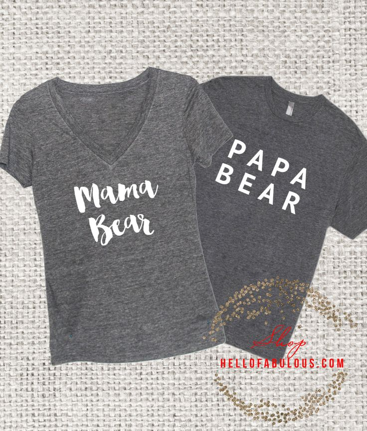 Mama Bear. Papa Beer. Babyshirt Beer. Nieuwe Mom cadeau. Geschenk van de vader. Familie Shirts. Moeder shirt. Baby douche cadeau. Mama shirt. Mama Beer shirt. door HelloFabulousApparel op Etsy https://www.etsy.com/nl/listing/253673591/mama-bear-papa-beer-babyshirt-beer