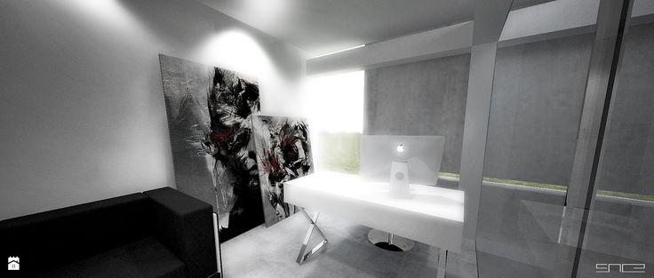 H_010 SCRATCH HOUSE - zdjęcie od SNCE Studio - Gabinet - Styl Minimalistyczny - SNCE Studio