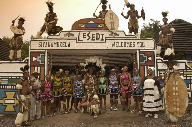 Half-Day Lesedi Cultural Village Tour from Johannesburg