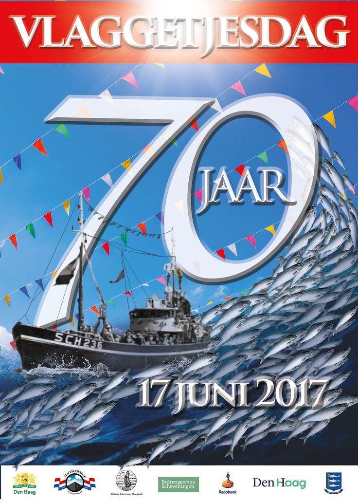 Vlaggetjesdag 2017 Jubileumfeest van 70 jaar!
