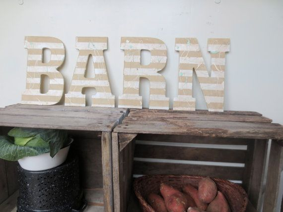BARN SIGN // Farm Sign // Kitchen Decor // Rustic by SweetMeas, $75.00