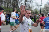 Tomasz Manikowski podczas 10. Cracovia Maraton