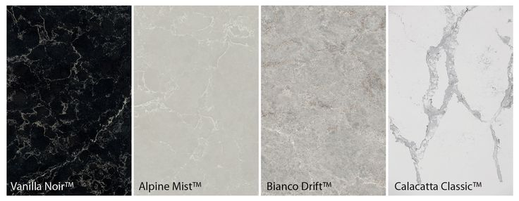 Alpine Mist™ – a white cool grey background featuring wider delicate natural crisp white veins. Bianco Drift™ – inspired by light natural granites it also incorporates delicate organic vein features. The subtle colourations of light grey and white with a hint of light brown bring this stunning new design alive.