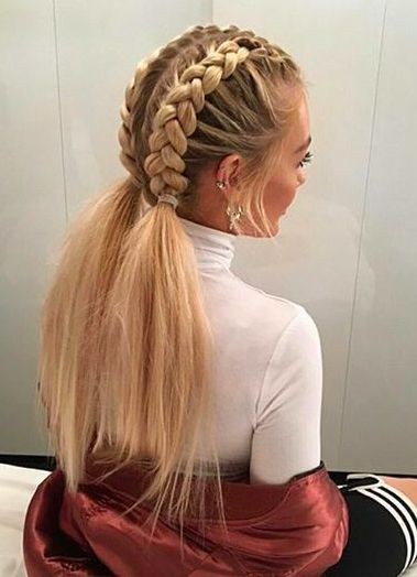 braid styles for white hair 25 best ideas about white braids on 1332 | 099d7c19b873dd2915ce20832f59d03d