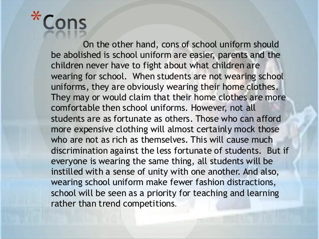 french essay school uniform French phrases (school) 1000s of useful french words & phrases for travellers to france for students of french, holidays in france, and business people.