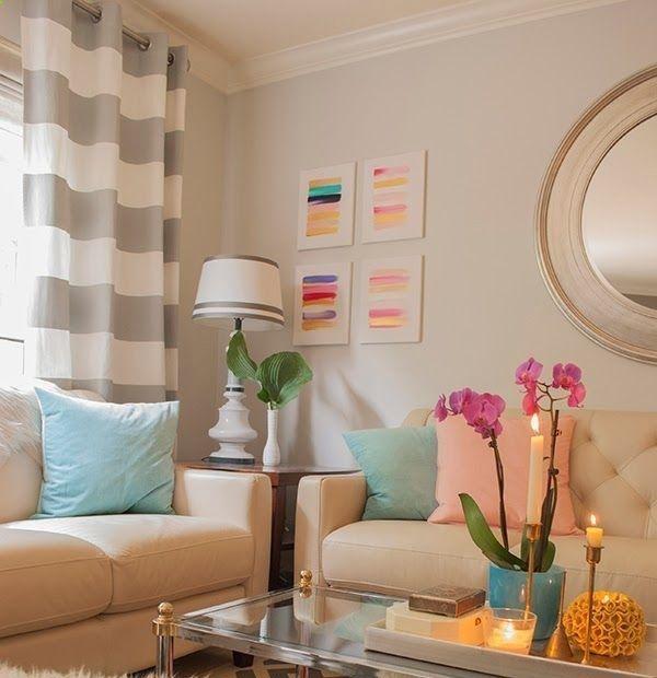 5 dicas para você decorar a sua sala de estar de forma simples e econômica