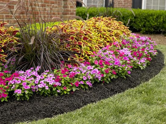 I Have Been Considering Black Mulch For My Gardens The Last Couple Of Years.