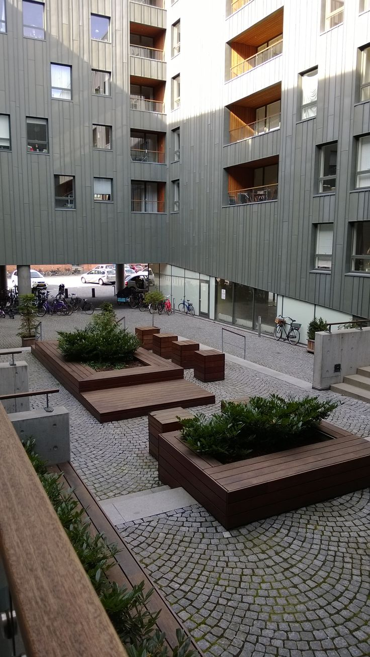 West8, Courtyard, Amerika Plads, Copenhagen